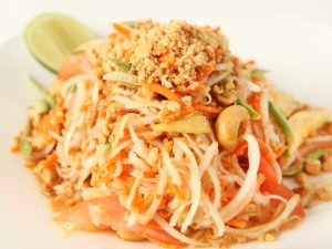 Mango Papaya Salad