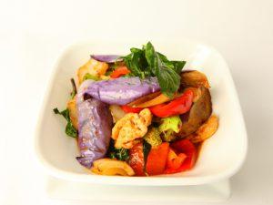 Thai Eggplant Stir Fry