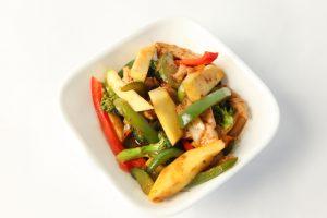 Thai Mango Stir Fry